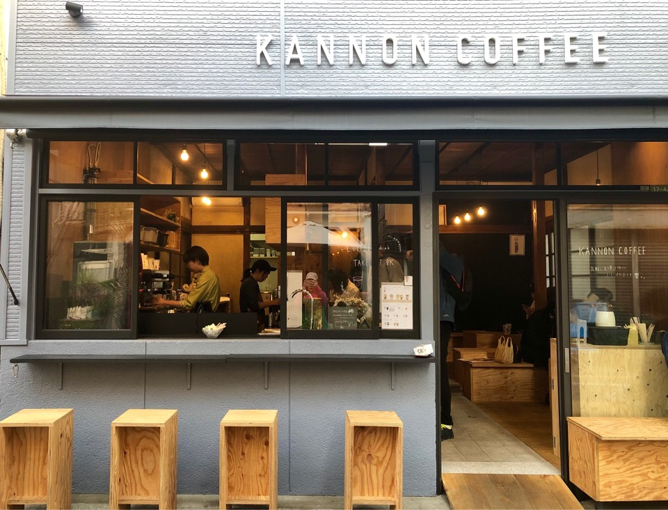 【松陰神社前】KANNON COFEE(カンノンコーヒー)が東京初進出!